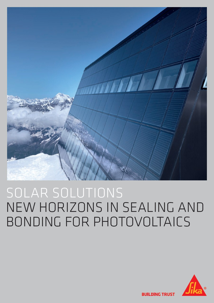 Solar Solutions - New Horizons in Sealing and Bonding for Photovoltaics